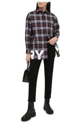 Женские кожаные ботинки VIC MATIE черного цвета, арт. 1Z5600D.Y10Y060101 | Фото 2