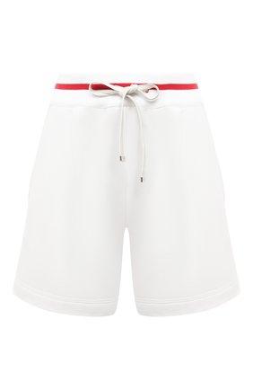 Женские шорты из хлопка и кашемира KITON белого цвета, арт. D51110AK09T22 | Фото 1