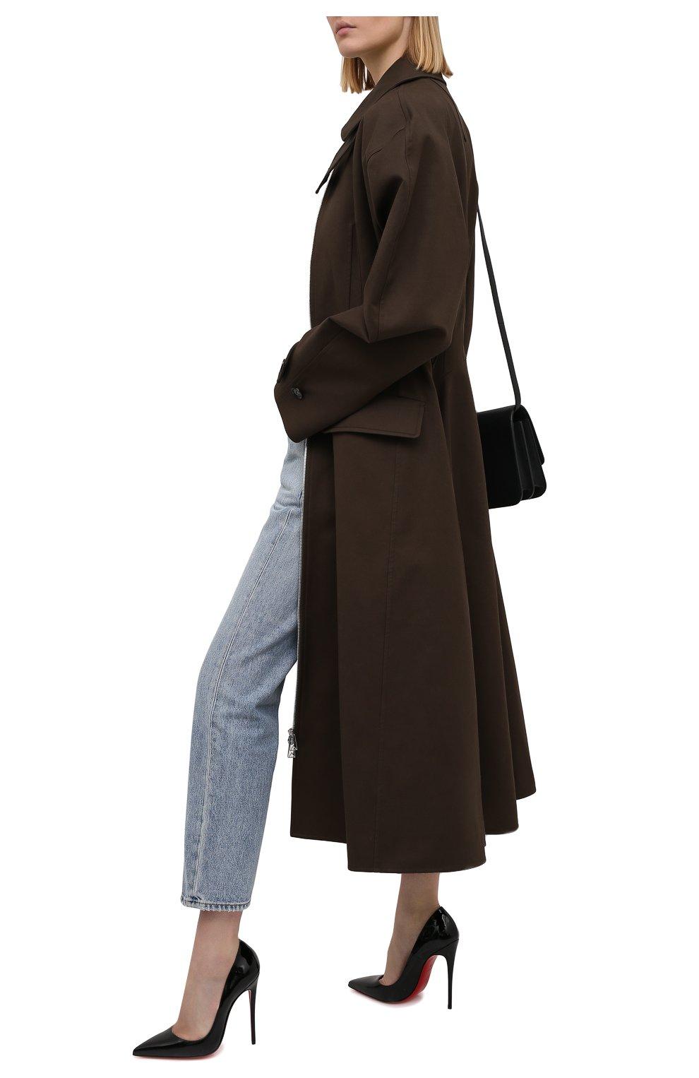 Женские кожаные туфли so kate 120 CHRISTIAN LOUBOUTIN черного цвета, арт. 3130694/S0 KATE 120 | Фото 2