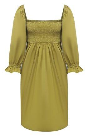 Женское хлопковое платье FAITHFULL THE BRAND зеленого цвета, арт. FF1720-P0L | Фото 1