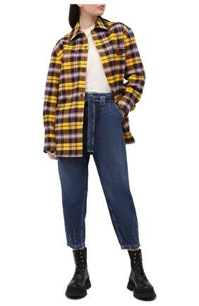 Женские джинсы POLO RALPH LAUREN синего цвета, арт. 211828655 | Фото 2