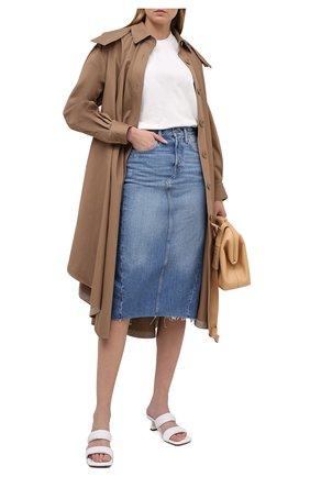 Женская джинсовая юбка POLO RALPH LAUREN синего цвета, арт. 211825856 | Фото 2