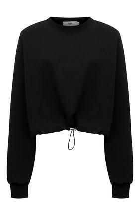 Женский хлопковый свитшот THE FRANKIE SHOP черного цвета, арт. SW CHS KR 11 | Фото 1