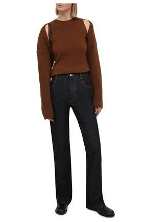 Женский комплект из жилета и кардигана THE FRANKIE SHOP коричневого цвета, арт. ST KSS KR 11 | Фото 2