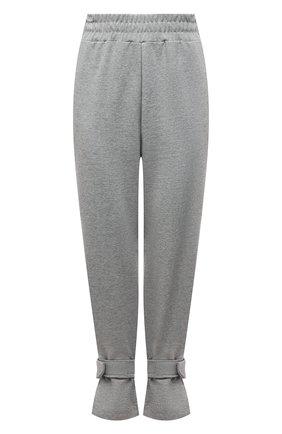 Женские хлопковые брюки THE FRANKIE SHOP серого цвета, арт. PA TCS KR 11 | Фото 1