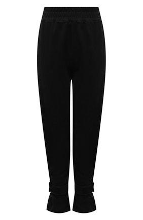 Женские хлопковые брюки THE FRANKIE SHOP черного цвета, арт. PA TCS KR 11 | Фото 1