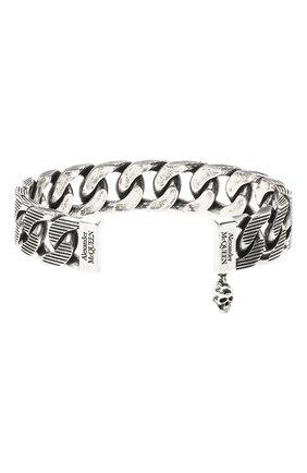 Мужской браслет ALEXANDER MCQUEEN серебряного цвета, арт. 634063/J160Y | Фото 2