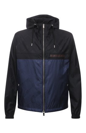 Мужская куртка BERLUTI синего цвета, арт. R190BU77-001   Фото 1