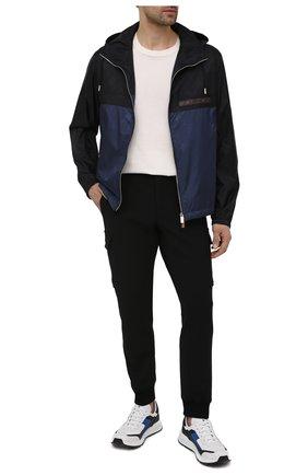 Мужская куртка BERLUTI синего цвета, арт. R190BU77-001   Фото 2