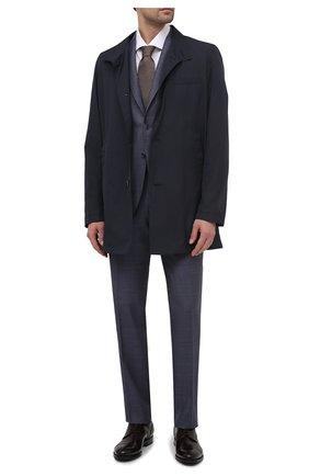 Мужские кожаные дерби W.GIBBS бордового цвета, арт. 8378010/2437   Фото 2