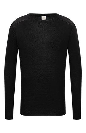Мужской льняной свитер 120% LINO темно-серого цвета, арт. T0M35AC/F966/S00   Фото 1