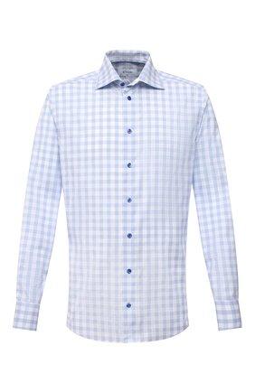 Мужская хлопковая сорочка ETON голубого цвета, арт. 1000 02224 | Фото 1