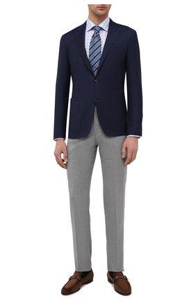Мужская хлопковая сорочка ETON голубого цвета, арт. 1000 02224 | Фото 2