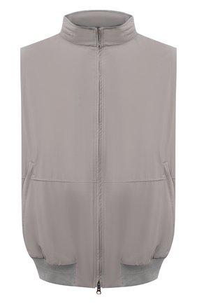 Мужской жилет KIRED серого цвета, арт. WMAXBSMW6905001002/64-74 | Фото 1
