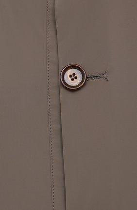Мужской бомбер KIRED хаки цвета, арт. WSERGI0W6905011001/64-74 | Фото 5 (Кросс-КТ: Куртка; Big sizes: Big Sizes; Рукава: Длинные; Принт: Без принта; Материал внешний: Синтетический материал; Длина (верхняя одежда): Короткие; Стили: Кэжуэл)