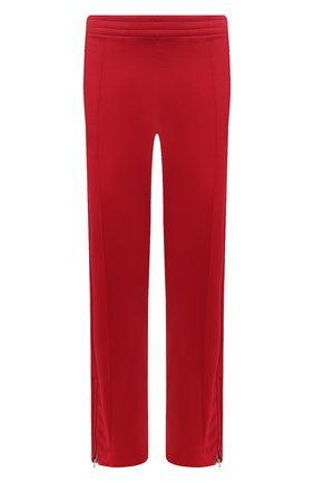 Мужские брюки BOTTEGA VENETA красного цвета, арт. 648998/V0C10 | Фото 1 (Материал внешний: Вискоза, Синтетический материал; Длина (брюки, джинсы): Стандартные; Случай: Повседневный; Стили: Минимализм)