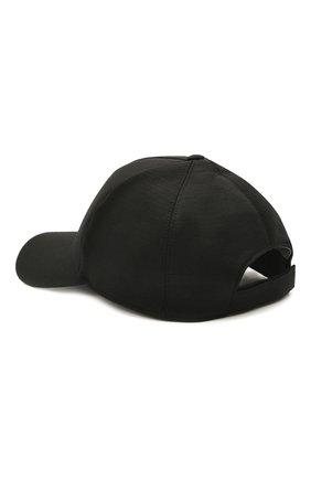Мужской шерстяная бейсболка Z ZEGNA черного цвета, арт. Z9I71/B9I | Фото 2