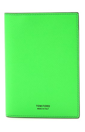 Мужской кожаная обложка для паспорта TOM FORD зеленого цвета, арт. Y0274T-LCL143 | Фото 1