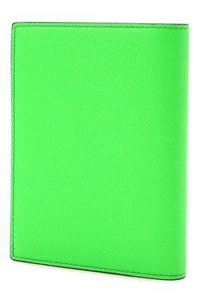 Мужской кожаная обложка для паспорта TOM FORD зеленого цвета, арт. Y0274T-LCL143 | Фото 2