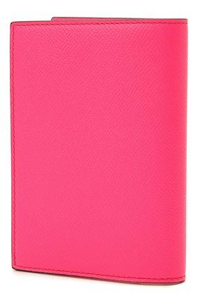 Мужской кожаная обложка для паспорта TOM FORD фуксия цвета, арт. Y0274T-LCL143 | Фото 2