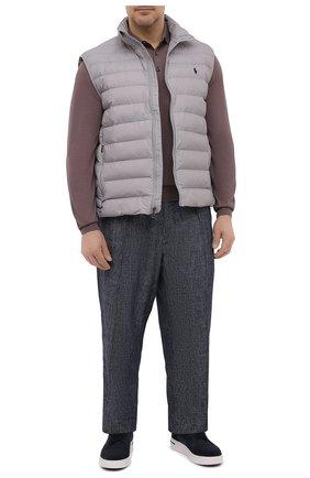 Мужской утепленный жилет POLO RALPH LAUREN светло-серого цвета, арт. 711810898/PRL BS | Фото 2