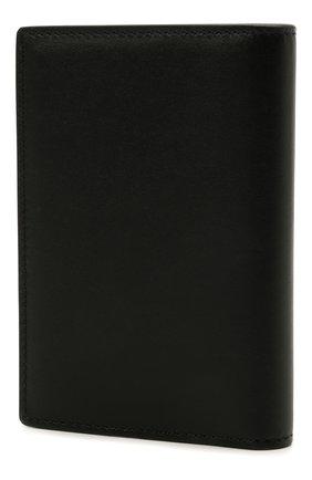 Мужской кожаный футляр для кредитных карт GIVENCHY черного цвета, арт. BK600BK136 | Фото 2