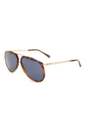 Мужские солнцезащитные очки BRIONI коричневого цвета, арт. 0DC900/P3ZAC | Фото 1