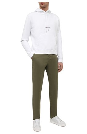 Мужские хлопковые брюки PT TORINO хаки цвета, арт. 211-C5 VT01Z00CHN/NT46 | Фото 2