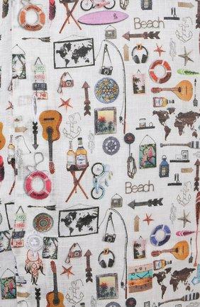 Мужская льняная рубашка SONRISA разноцветного цвета, арт. IL7/C4120/47-51   Фото 5 (Манжеты: На пуговицах; Big sizes: Big Sizes; Рукава: Длинные; Рубашки М: Classic Fit; Воротник: Акула; Случай: Повседневный; Длина (для топов): Стандартные; Принт: С принтом; Материал внешний: Лен; Стили: Кэжуэл)