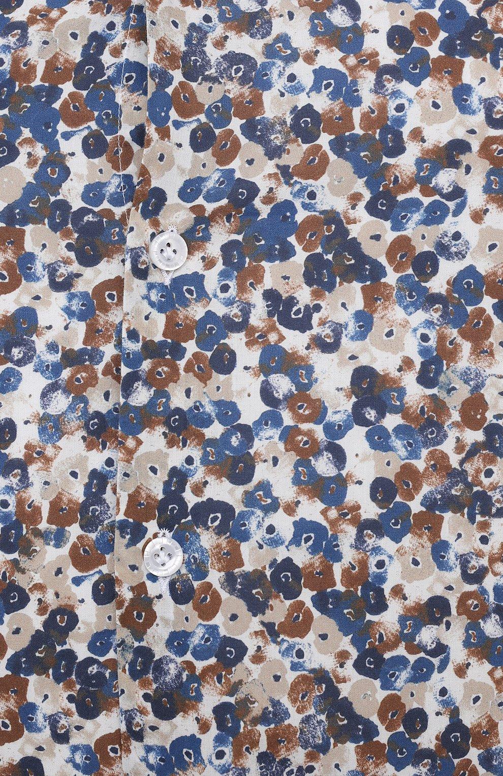 Мужская хлопковая рубашка SONRISA разноцветного цвета, арт. IL7/C4075/47-51 | Фото 5 (Манжеты: На пуговицах; Big sizes: Big Sizes; Рукава: Длинные; Рубашки М: Classic Fit; Воротник: Акула; Случай: Повседневный; Длина (для топов): Стандартные; Принт: С принтом; Материал внешний: Хлопок; Стили: Кэжуэл)
