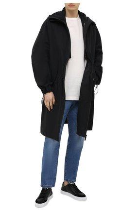 Мужские кожаные кеды AXEL ARIGATO черного цвета, арт. 28653 | Фото 2