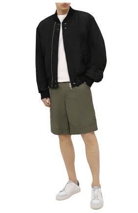 Мужские кожаные кеды AXEL ARIGATO белого цвета, арт. 28636 | Фото 2