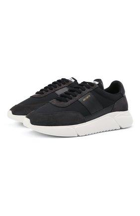 Мужские комбинированные кроссовки AXEL ARIGATO черного цвета, арт. 27575 | Фото 1