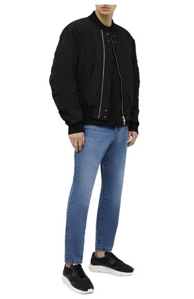 Мужские комбинированные кроссовки AXEL ARIGATO черного цвета, арт. 27575 | Фото 2