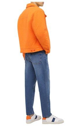 Мужские кожаные кеды AXEL ARIGATO белого цвета, арт. 27549 | Фото 2