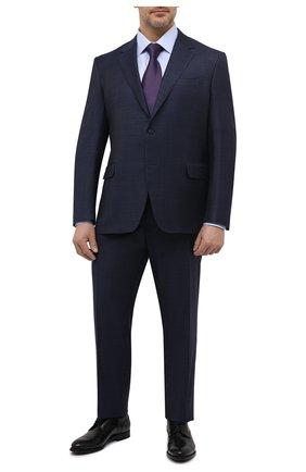 Мужской шерстяной костюм CANALI темно-синего цвета, арт. 21280/19/AA02524/60-64   Фото 1