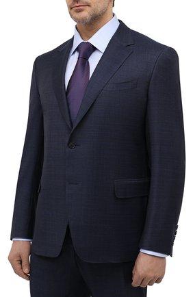 Мужской шерстяной костюм CANALI темно-синего цвета, арт. 21280/19/AA02524/60-64   Фото 2