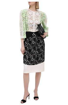 Женское хлопковое платье ULYANA SERGEENKO зеленого цвета, арт. ABC013FW20P(0462з20) | Фото 2