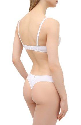 Женские трусы-бикини SIMONEPERELE белого цвета, арт. 15C700 | Фото 3 (Материал внешний: Синтетический материал)