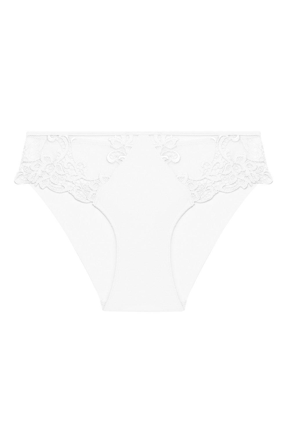 Женские трусы-слипы SIMONEPERELE белого цвета, арт. 15C720 | Фото 1