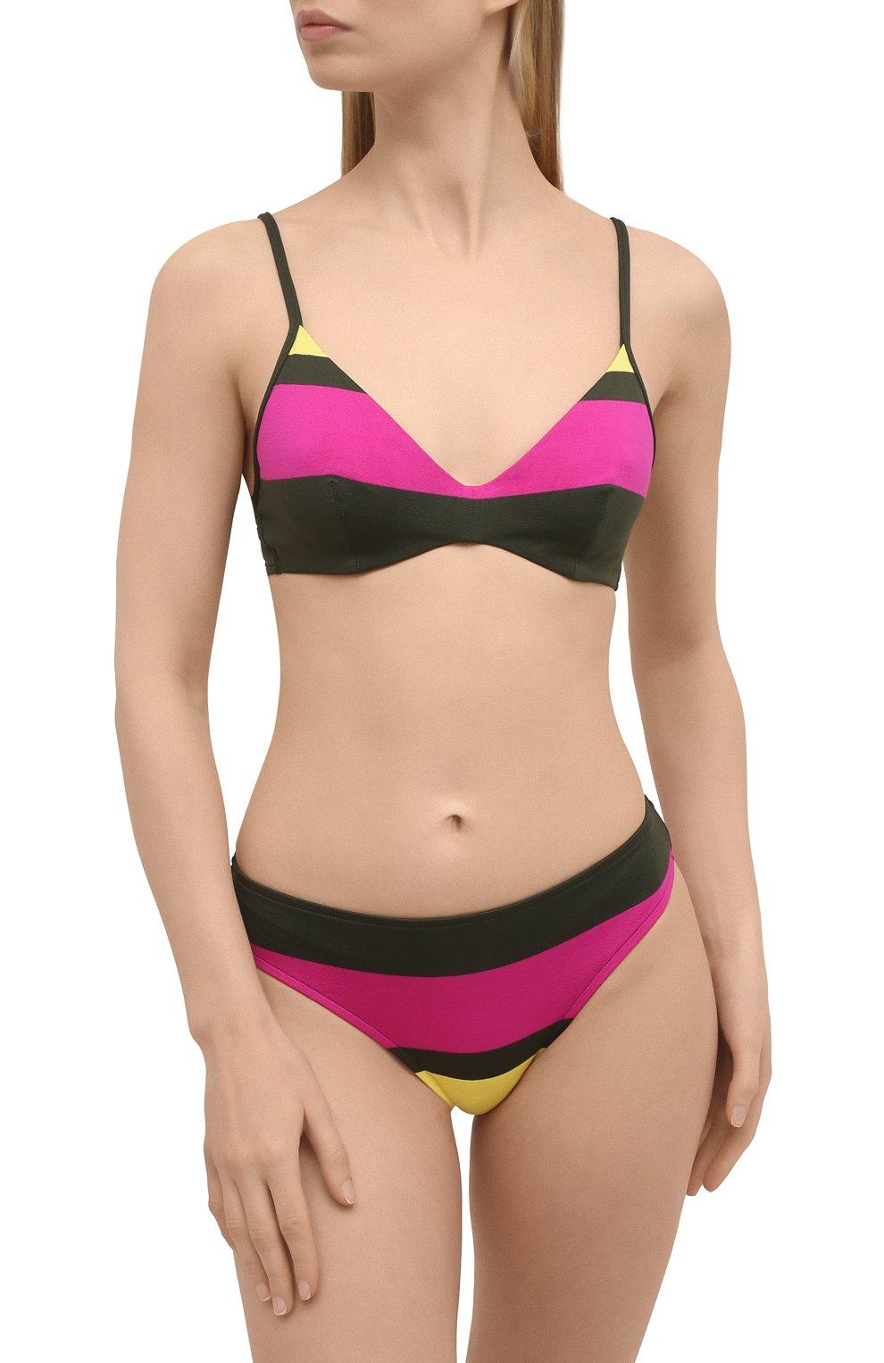 Женский раздельный купальник ANDRES SARDA зеленого цвета, арт. 3410013-3410050 | Фото 2