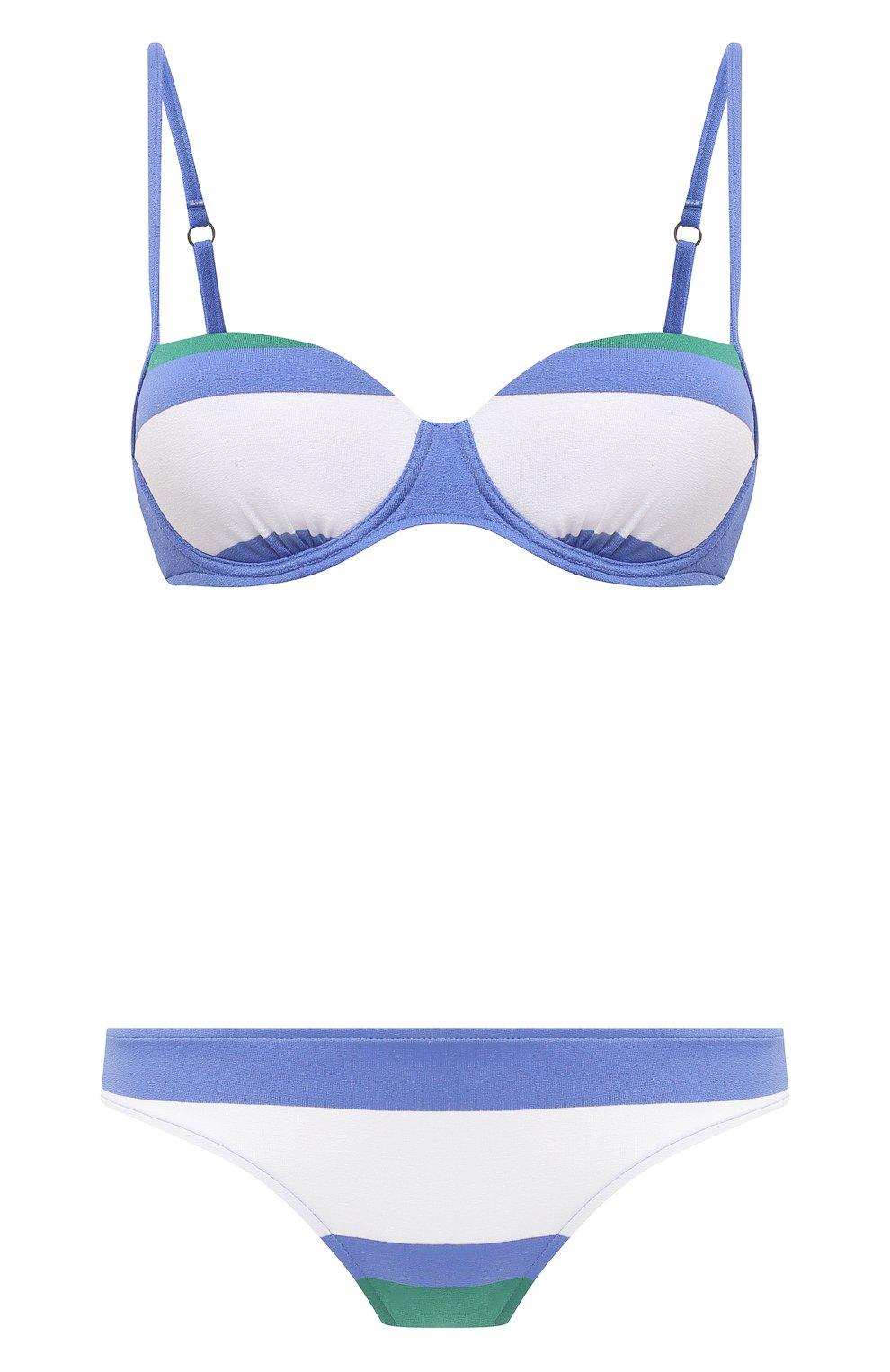 Женский раздельный купальник ANDRES SARDA голубого цвета, арт. 3410014-3410050 | Фото 1