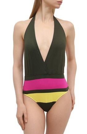 Женский слитный купальник ANDRES SARDA зеленого цвета, арт. 3410037 | Фото 2