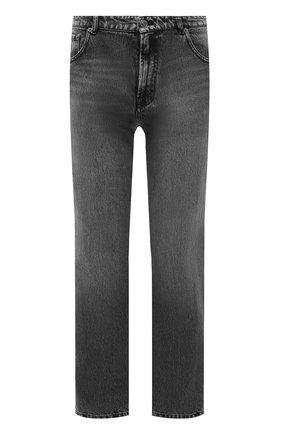 Женские джинсы BALENCIAGA темно-серого цвета, арт. 641547/TBP47 | Фото 1