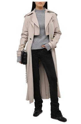 Женские джинсы BALENCIAGA черного цвета, арт. 641546/TJW39 | Фото 2