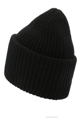 Женская шерстяная шапка ACNE STUDIOS черного цвета, арт. C40135/W | Фото 2