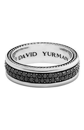 Мужское кольцо DAVID YURMAN серебряного цвета, арт. R05780MSSABD | Фото 1
