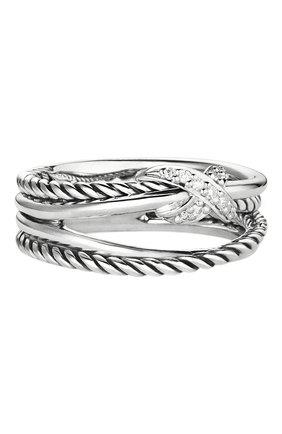Женские кольцо DAVID YURMAN бесцветного цвета, арт. R07437DSSADI | Фото 1