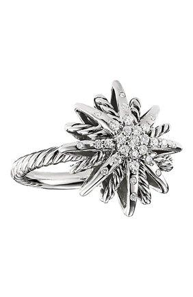 Женские кольцо DAVID YURMAN бесцветного цвета, арт. R11608DSSADI | Фото 1
