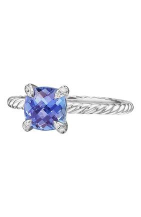 Женские кольцо DAVID YURMAN бесцветного цвета, арт. R12598D8WATZDI | Фото 1